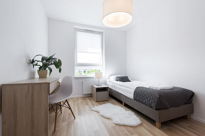 small room look bigger
